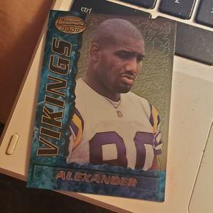 Derrick Alexander football card